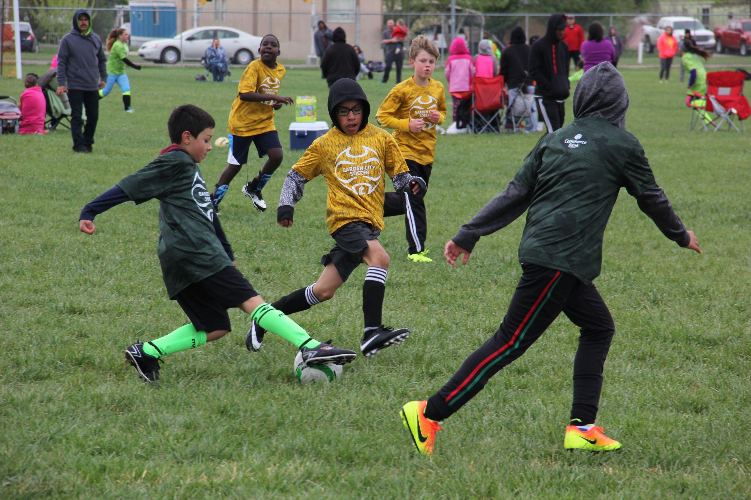 Youth Soccer/Futsal | Garden City Recreation Commission, KS